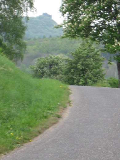 road from Lovosice: 500 m before your order